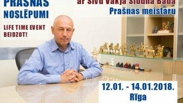 Prašnas noslēpumi –  intensīvais trīs dienu seminārs ar Šivu Vākja Siddha Baba
