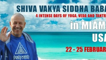 SHIVA'S SEMINARS OF YOGA, VEDA AND TANTRA IN MIAMI, USA