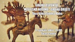 GRAHU ASPEKTU MISTISKĀ NOZĪME - GRAHA DRIŠTI