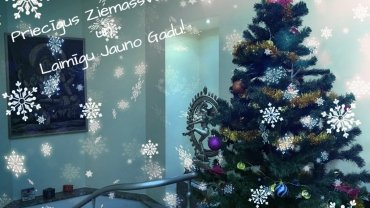 ZIEMASSVĒTKU UN JAUNĀ GADA VĒSTĪJUMS 2018